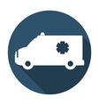 medical transport vector image vector image