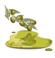 olive butter vector image