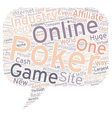 Online Poker Become A Poker Affiliate And Cash In vector image vector image