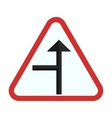 Side road Left vector image vector image