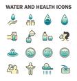 water icon vector image vector image