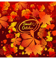 cute poster or greeting card with inscription vector image