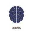 logotype brain vector image