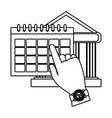 personal finance cartoon vector image