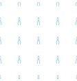 pliers icon pattern seamless white background vector image vector image