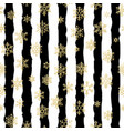 seamless pattern design gold glittering vector image vector image