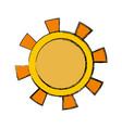 sun icon image vector image vector image