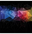 Triangle concept design Mosaic vector image vector image