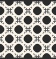 abstract geometric ornament seamless texture vector image vector image