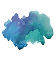 Beautiful watercolor texture vector image vector image