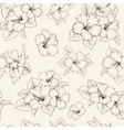 Bridal seamless pattern vector image