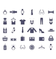 Clothing and Accessories Themed Graphics vector image vector image