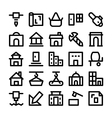 Construction Icons 6 vector image vector image