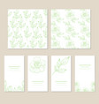decorative greeting card or invitation vector image vector image
