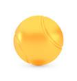 golden tennis award concept shiny realistic vector image
