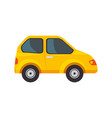 isolated particular car vector image vector image