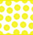 lemon seamless pattern vector image vector image