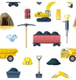 Mining Industry Pattern vector image vector image