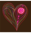 vector abstract heart vector image