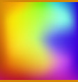 abstract colorful blurred gradient mesh vector image vector image