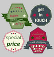 badges-30 vector image