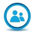 Blue Leader icon vector image