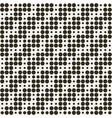 geometric seamless optical dotted pattern vector image