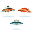 space ships vector image vector image