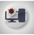 technology design security system icon Isolated vector image