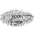 are you content with your e book content five vector image vector image
