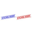 atacama desert watermarks with corroded texture vector image vector image