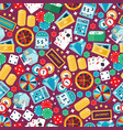 casino gambling seamless pattern vector image