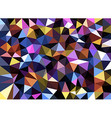Colorful geometric texture abstract background vector image vector image