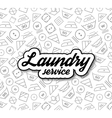 Laundry service vector image vector image
