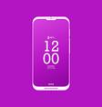 modern smartphone flat vector image