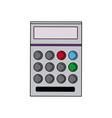 school calculator math number counts vector image vector image