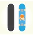 Skateboard isolated vector image