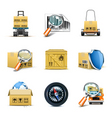 logistic icons | bella series vector image