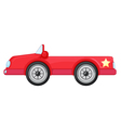 a red car vector image vector image