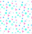 abstract colorful geometry white pattern im vector image