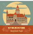 Czech landmarks vector image vector image