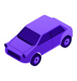 gasoline car icon isometric style vector image