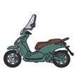 scooter9 vector image vector image