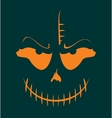 Skull with Evil Laugh vector image