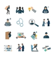 Theft Icons Set vector image vector image