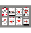 valentines day greeting vector image