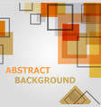 abstract geometric pattern design background vector image vector image