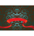 Abstract Pattern with banner vector image vector image