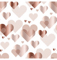 love heart concept for backdrop simple stylized vector image vector image