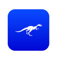 velyciraptor icon digital blue vector image vector image